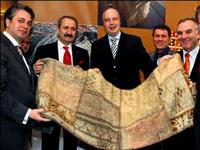 Almanya'da Türk halıları birinci oldu