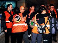 'Yılmaz Türkler' yurda döndü
