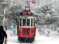 İstanbul donuyor -8 derece