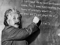 Einstein matematik dersinde başarısız mıydı?
