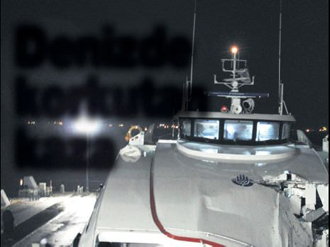 Denizde korkutan kaza