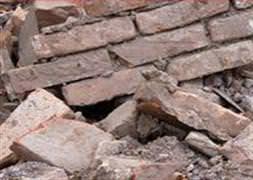 Kerpiç ev çöktü: 1 ölü