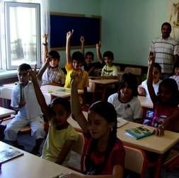 İlkokul 1. sınıfta ingilizce dersi
