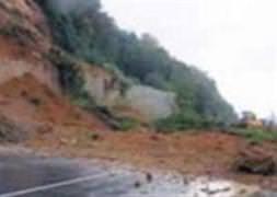 Çin'de toprak kayması