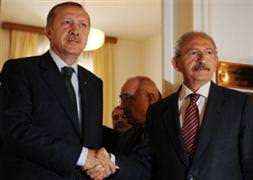 Erdoğan, Kılıçdaroğlu ile görüştü