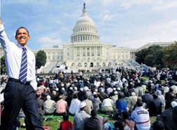 Beyaz Saray'da Cuma namazı