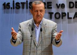 Erdoğan'ı şaşırtan türban çıkışı