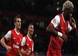 Arsenal fırtına gibi