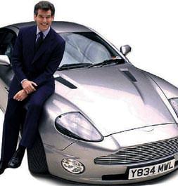 Bond'un aracı Türkiye'de