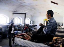 Ulucanlar'da gönüllü mahkumiyet