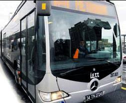Otobüslere % 50 indirim