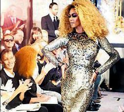 Beyonce podyumu dağıttı