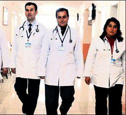 4 yıldızlı hastane!