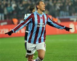 Trabzon kupada da lider