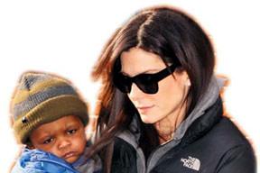Sandra'nın oğlu basından korktu