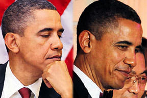Obama'nın gece gündüz farkı