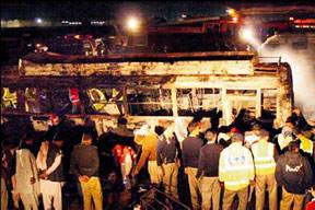 Pakistan'da feci kaza