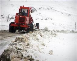 312 köy yolu ulaşıma kapandı