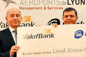 Vakıfbank'tan Limak'a 85 milyon euroluk kredi