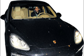 Porsche ile gece turu