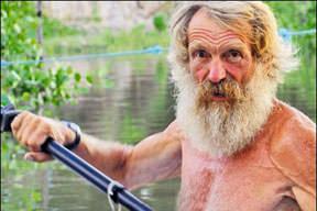 64lük adam Atlantiki kanoyla geçti