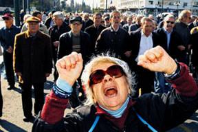 Yunanistan'ı IMF çıldırttı