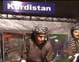 İstanbul'da 'Kürdistan' standı
