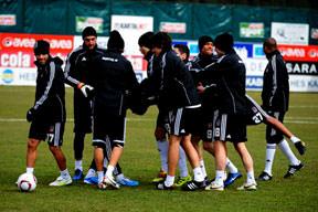 Beşiktaş Kiev'e hazır!