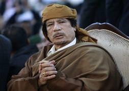 Kaddafi kendini böyle savundu