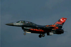 F-16'ya desibel ölçümü