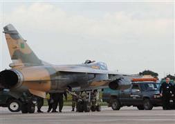 Libya'da jet düştü