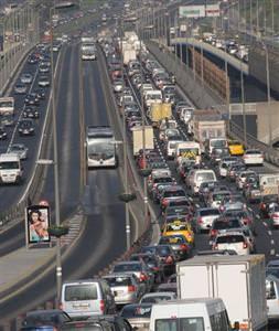 Trafikte ne kadar araç var?