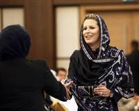 Kaddafi'nin kızına şok