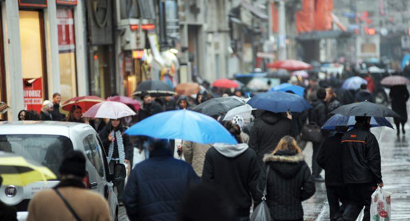 İstanbul'da 4 gün daha yağmur var