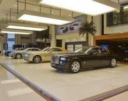 Abu Dabide Rolls-Royce rüzgarı