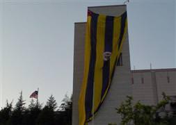 Bu bayrağın burada işi ne?