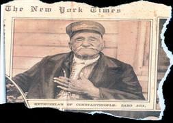 Türkiyenin en yaşlı insanı