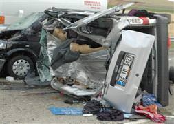 Kırşehirde trafik kazası: 2 ölü, 3 yaralı