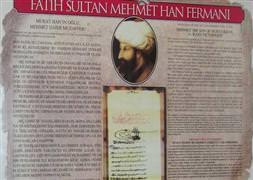 İslamofobiye karşı Fatih'in fermanı