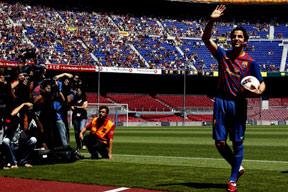 Ve Fabregas artık Barçalı