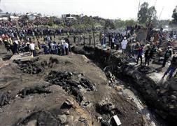 Boru hattında patlama: 120 ölü