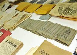 Gizli belgeler bit pazarında çıktı