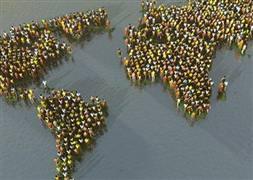 İşte 2050'de dünya nüfusu