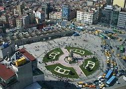 Trafiksiz Taksim'e onay