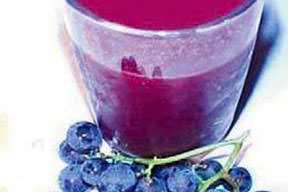 Gençleşmek için üzüm suyu için