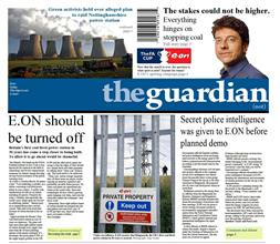 The Guardian'a telekulak şoku!