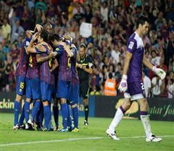 Osasuna'yı Barça'ladı:8-0