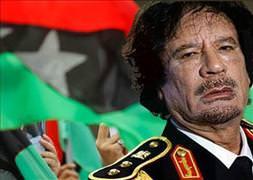 Kaddafi'den 'demokratik' mesaj