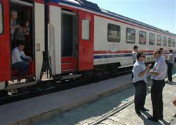 Yolcu treninde bomba ihbarı