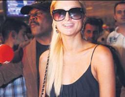 Paris Hilton İstanbul'da